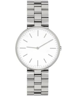 Silver Linked M37 Watch