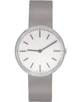 Silver & Grey Brushed M37 Watch