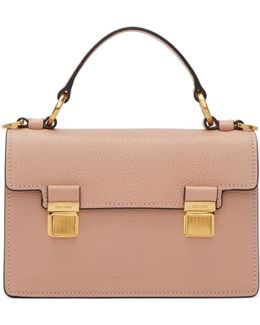 Pink Small Double Lock Bag