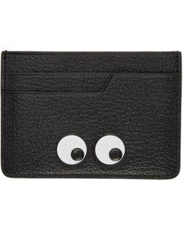 Black Eyes Card Holder