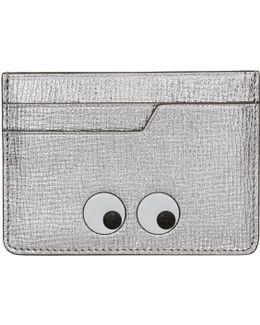 Silver Eyes Card Holder