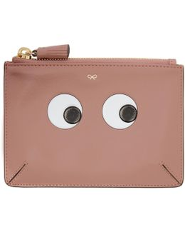 Pink Small Eyes Loose Pocket Pouch