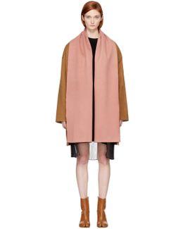 Brown Scheiff Scarf Coat
