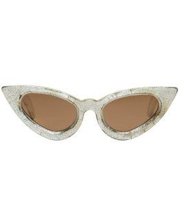 Silver Maske Y3 Sunglasses