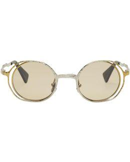 Gold & Silver Maske H11 Sunglasses