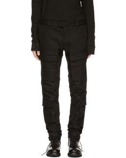 Black Tactical Cargo Pants