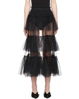 Black Tessa Skirt