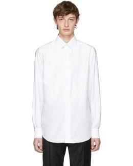 White Slim-fit Dress Shirt