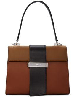 Tricolor Metal Ribbon Bag