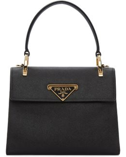 Black Mini Top Handle Bag