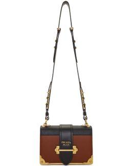 Tan & Black Cahier Bag