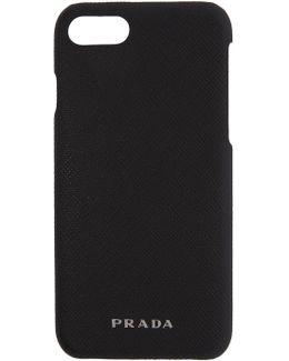 Black Saffiano Iphone 7 Case