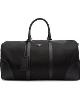 Black Nylon Duffle Bag