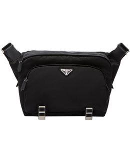 Black Cross-body Messenger Bag