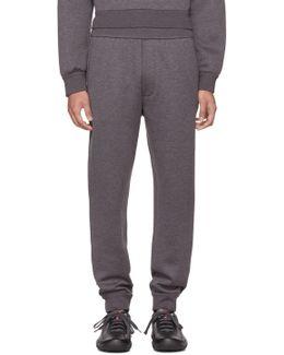 Grey Tech Jersey Lounge Pants