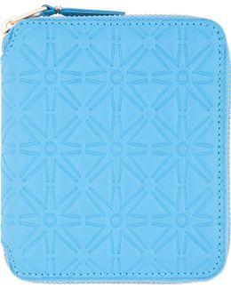 Blue Star Embossed Wallet