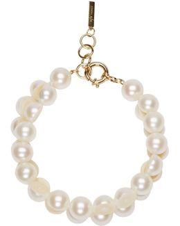 White Sliced Pearl Tasaki Edition Bracelet