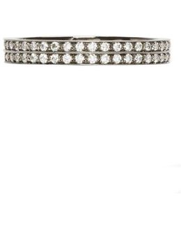 Black Gold Pavé Diamond Berbere Ring