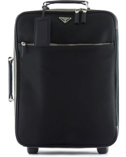 Nylon Carry-on Trolley Bag
