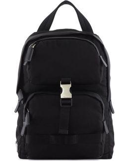 Small Crossbody Nylon Backpack