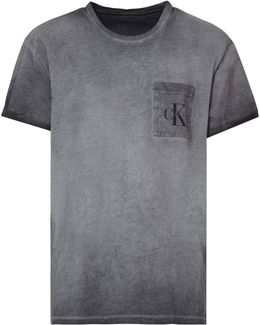 Logo Pocket Worn In T-shirt