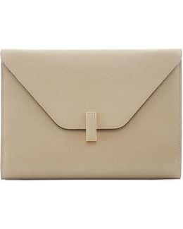 Iside Leather Clutch