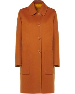 Reversible Coat In Cashmere