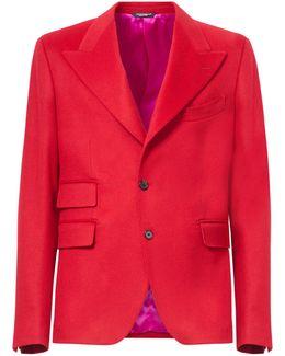 Cashmere Monobreasted Jacket