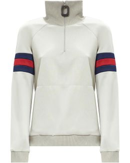 Zip Collar Sweatshirt