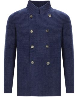 Cashmere Cardigan With Buttons