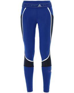 Blue Running Tights