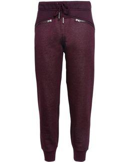 Red Essential Sweatpants