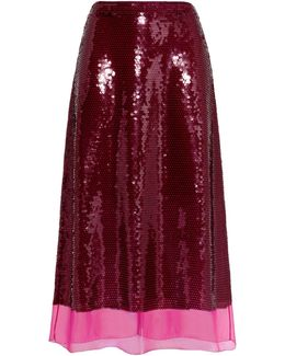 Margot Sequin Skirt