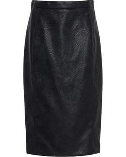 Mansela Skin Free Skin Leather Skirt