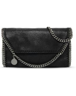 Black Falabella Shaggy Deer Mini Bag