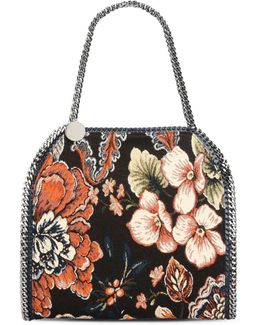 Denim And Tapestry Falabella Small Tote