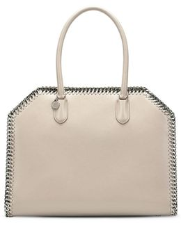 Taupe Falabella Box East West Tote