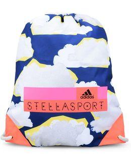 Cloud Print Gym Bag