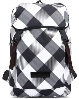 Check Medium Backpack