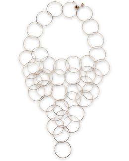 Rose Gold Brass Necklace