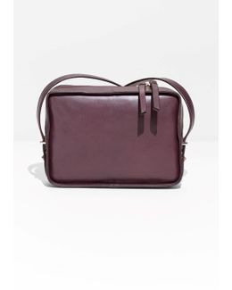 Structured Leather Crossbody