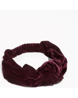 Plush Velvet Headband