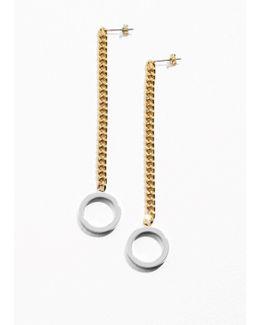 Chain Pending Earrings