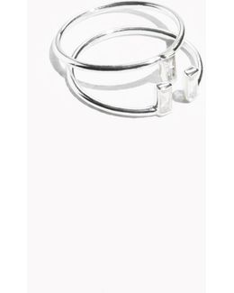 Crystal Stacked Ring Set