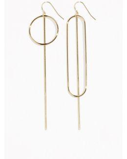 Metal Bar Earrings