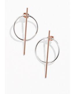 Hoop & Bar Earrings