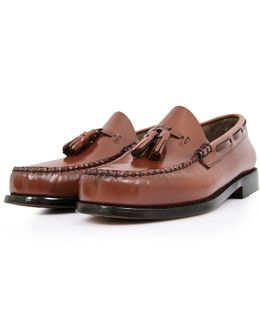 Larkin Cognac Loafer Shoes