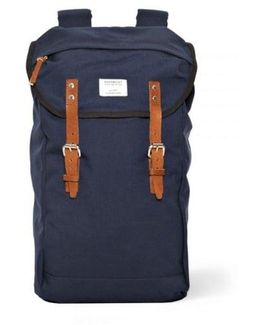 Hans Canvas Blue Backpack