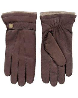 Bark Deerskin Gloves