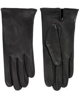 James Bond Skyfall Black Leather Gloves